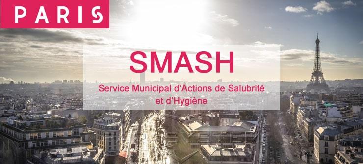 SMASH : Mesures prises par la Mairie de Paris
